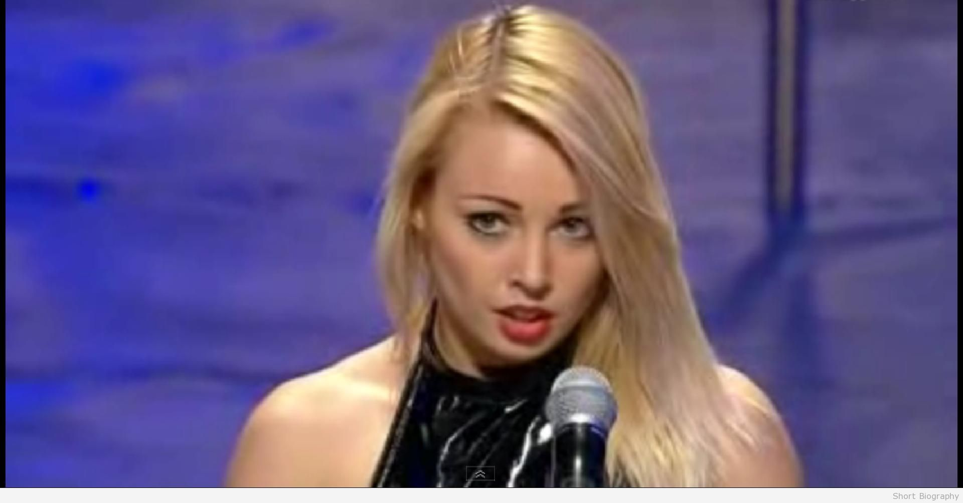 Anastasia Sokolova on Ukraines got talent.